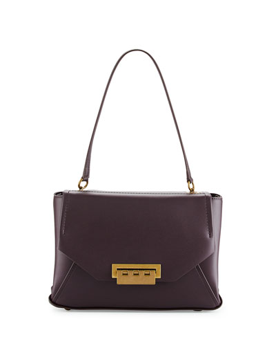 Eartha Envelope Shoulder Bag, Raisin
