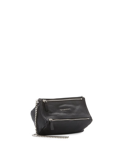 Pandora Mini Chain Sugar Satchel Bag, Black