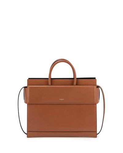 Horizon Small Leather Satchel Bag