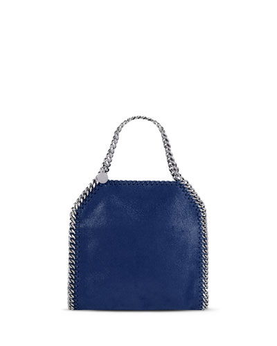 Falabella Mini Tote Bag, Blue