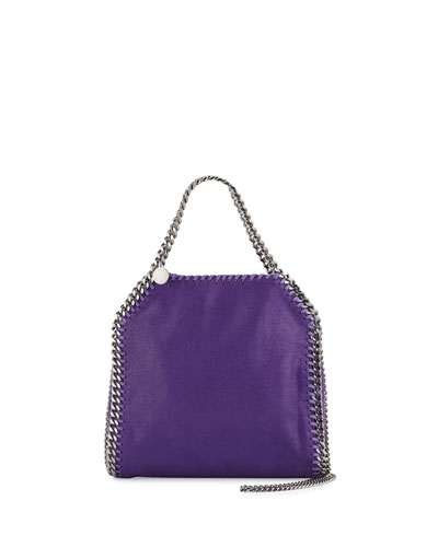 Falabella Mini Tote Bag, Purple