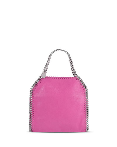 Falabella Mini Tote Bag, Hot Pink