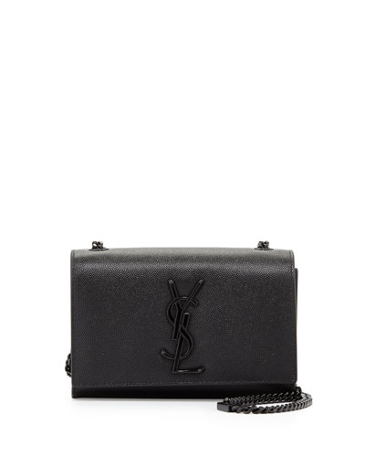 Kate Monogram Small Shoulder Bag, Black