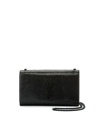 Kate Monogram Medium Crossbody Bag, Black