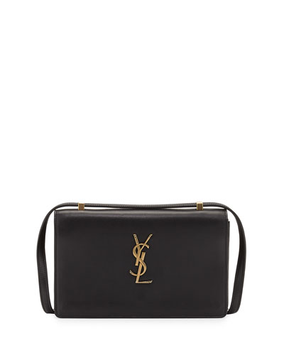 Monogram Small Dylan Shoulder Bag, Black