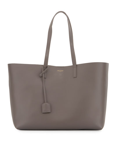 Large Shopping Tote Bag, Gray