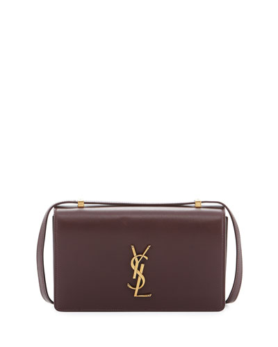 Monogram Small Dylan Shoulder Bag, Bordeaux