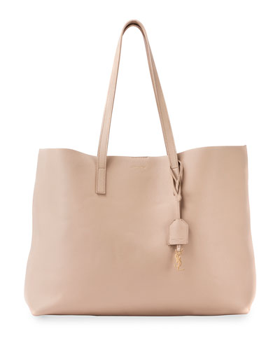 Large Shopping Tote Bag, Beige