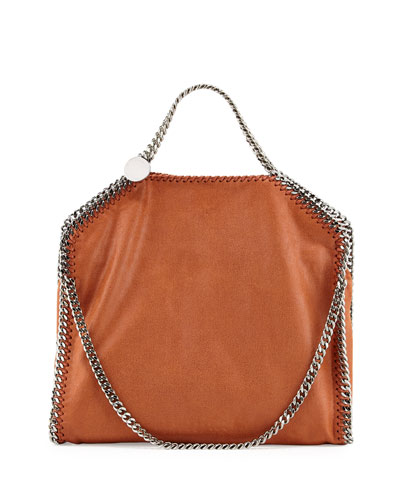 Falabella Fold-Over Tote Bag, Brandy