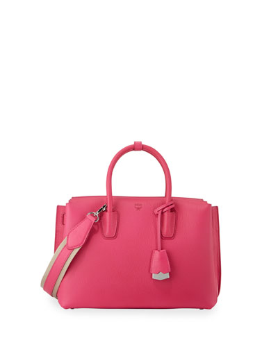 Milla Medium Tote Bag, Beetroot Pink