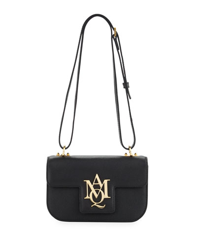Insignia Shoulder Bag, Black