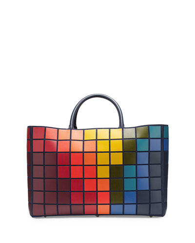 Ebury Maxi Giant Pixels Tote Bag, Multi