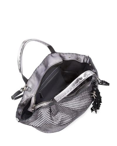 prada computer bag - prada mini double-handle trapezoid bag, prada handbag white