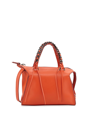 Gabria Sensua Mini Satchel Bag, Papaya