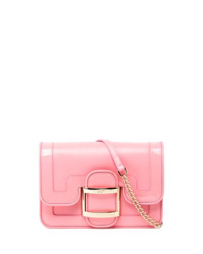 Viv' Micro Bordino Shoulder Bag, Pink
