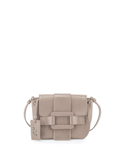 Pilgrim De Jour Leather Crossbody Bag, Stone