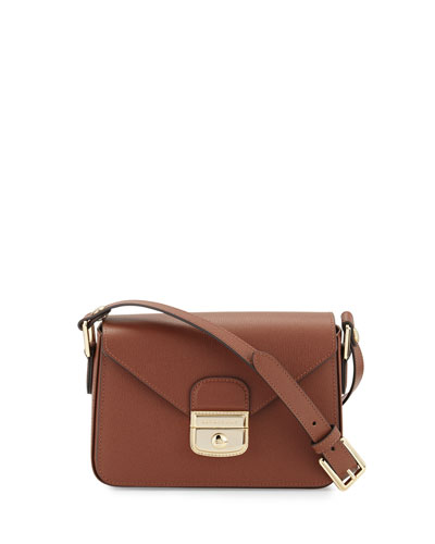 Le Pliage Heritage Small Crossbody Bag, Cognac