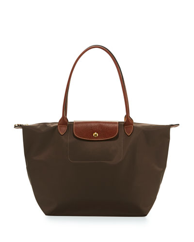 Le Pliage Large Shoulder Tote Bag, Terra
