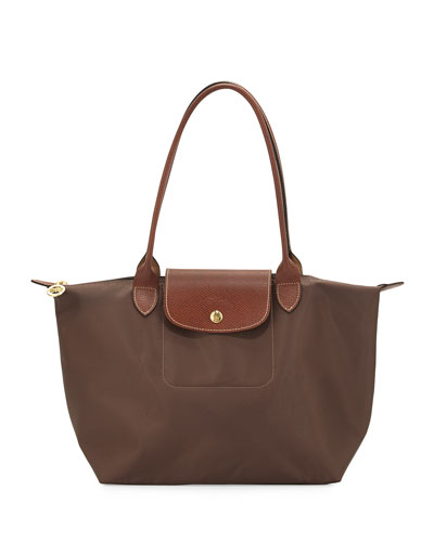 Le Pliage Medium Shoulder Tote Bag, Terra