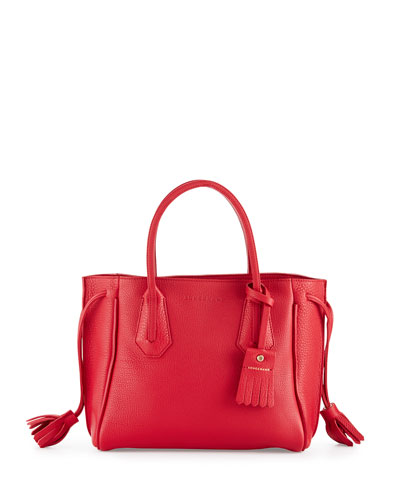 Longchamp Leather Tote | Neiman Marcus | Longchamp Leather Bag ...