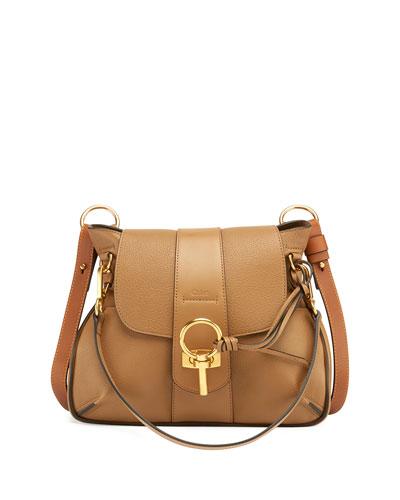 Lexa Small Shoulder Bag, Black