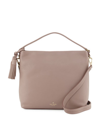 orchard street natalya small hobo bag, porcini