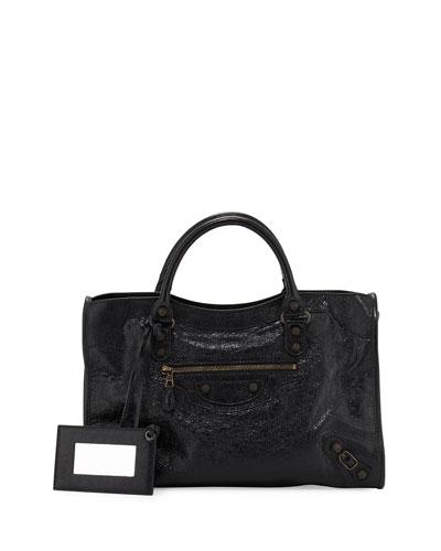 Giant 12 Brass City Bag, Black