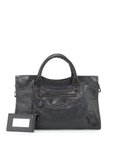 Giant 12 Brass City Bag, Dark Gray