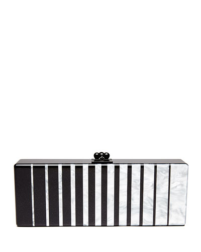 Flavia Fade Box Clutch Bag