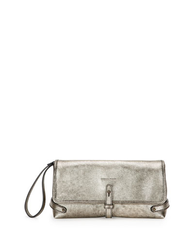 Granada Metallic Sporty Wristlet, Light Bronze