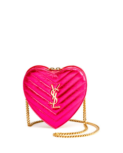 Monogram Small Love Crossbody Bag, Pink