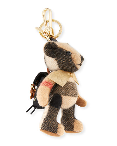 Thomas Bear Rucksack Charm for Handbag, Camel