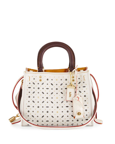 Rogue 25 Studded Tote Bag, Chalk