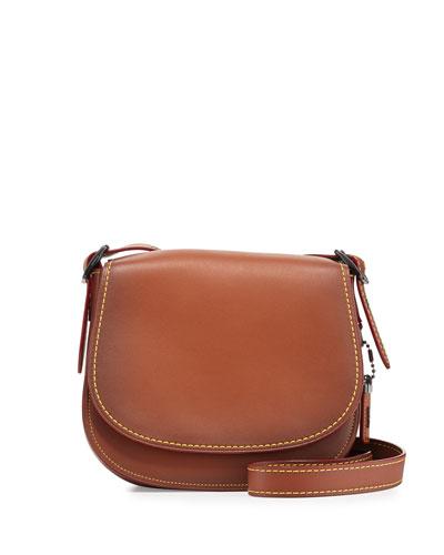 23 Leather Saddle Bag, 1941 Saddle
