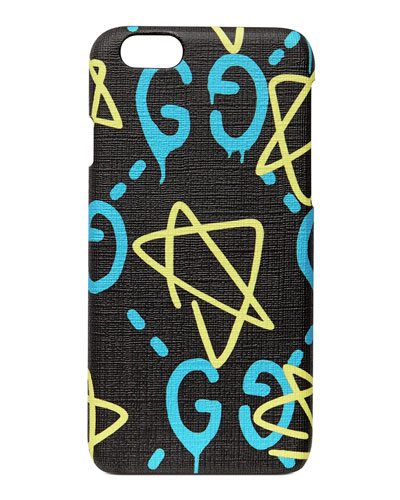 GG Writers Graffiti iPhone 6/6s Case, Black/Multi