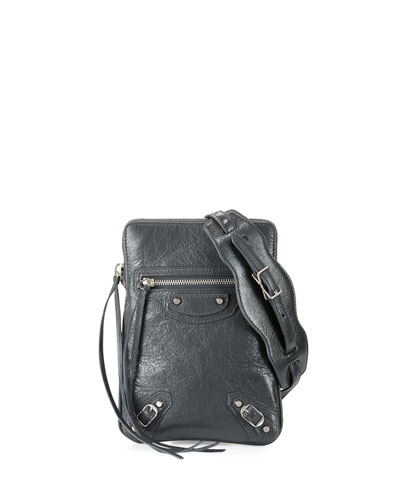 Classic Phone Holder Bag, Gray