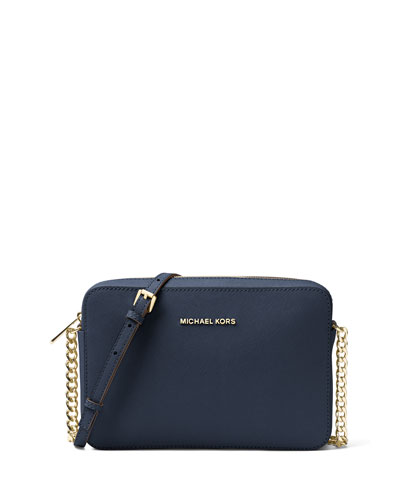 Jet Set Travel Large Crossbody Bag, Admiral