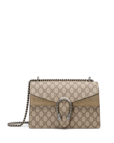 0e8c56c0c3d Quick Look. Gucci · Dionysus GG Supreme Small Shoulder Bag