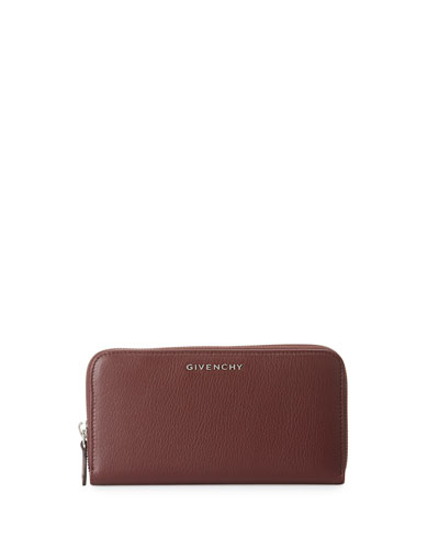 Pandora Zip-Around Wallet, Deep Red