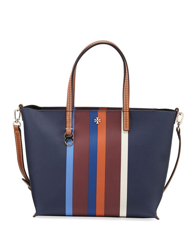 Kerrington Small Striped Square Tote Bag, Multi Center Stripe