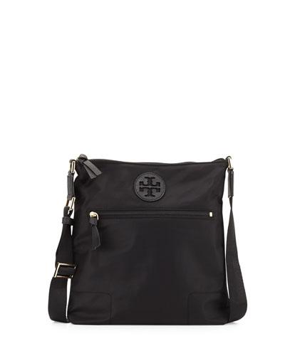 Ella Nylon Swingpack Bag, Black