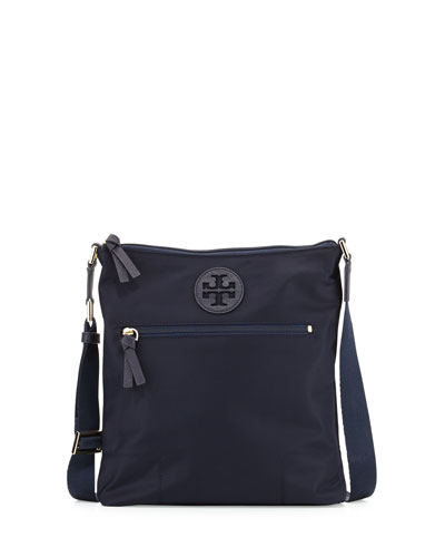 Ella Nylon Swingpack Bag, Navy