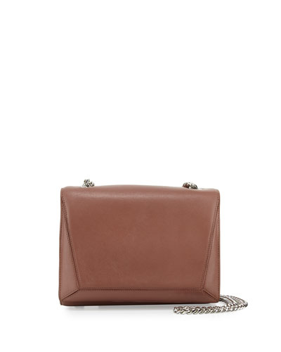 Ines Leather Shoulder Bag, Venus