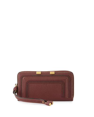 Marcie Leather Phone Wristlet
