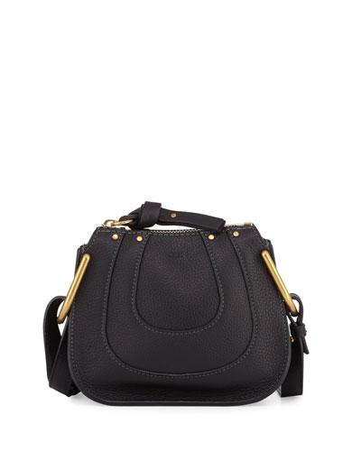 Hayley Nano Leather Shoulder Bag