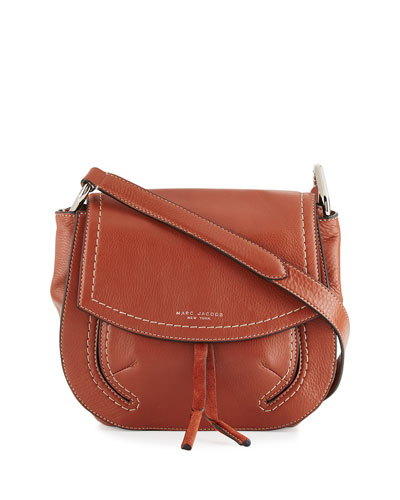 Maverick Leather Shoulder Bag, Cognac