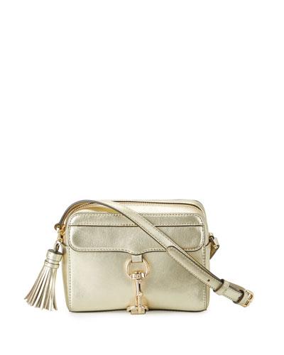 MAB Leather Camera Bag, Gold