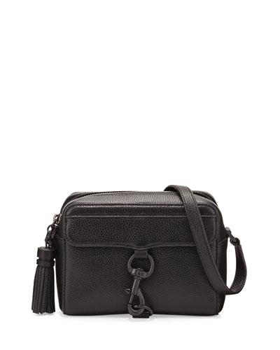 MAB Leather Camera Bag, Black