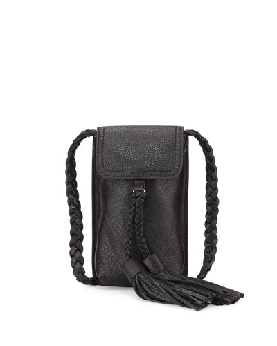 Isobel Leather Phone Crossbody Bag