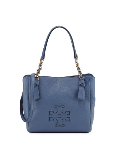 Harper Small Leather Satchel Bag